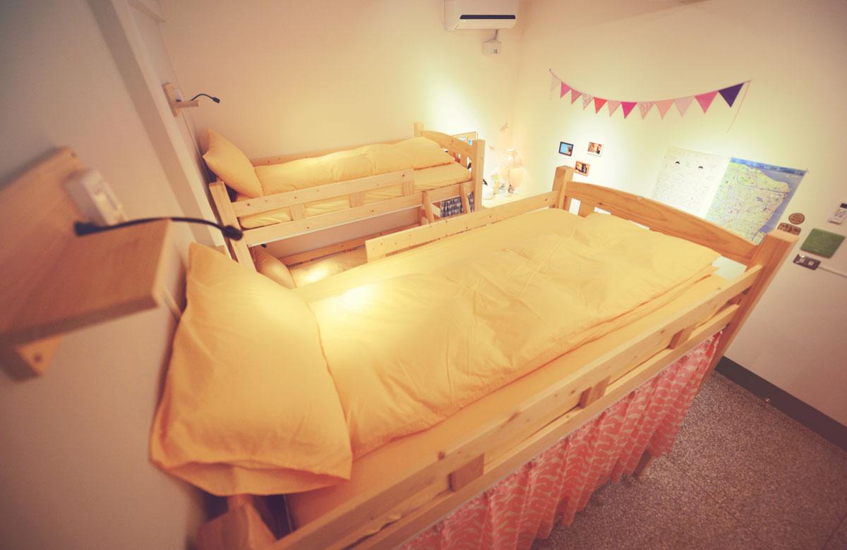 女生6人床位房